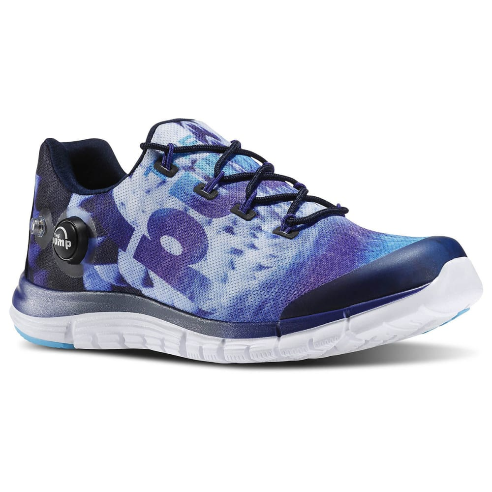 REEBOK Women's ZPump Fusion Sneakers - PURPLE