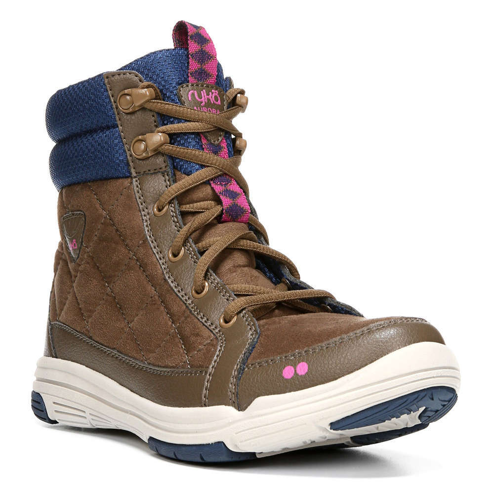 RYKA Women's Aurora Sneaker Boots - BROWN