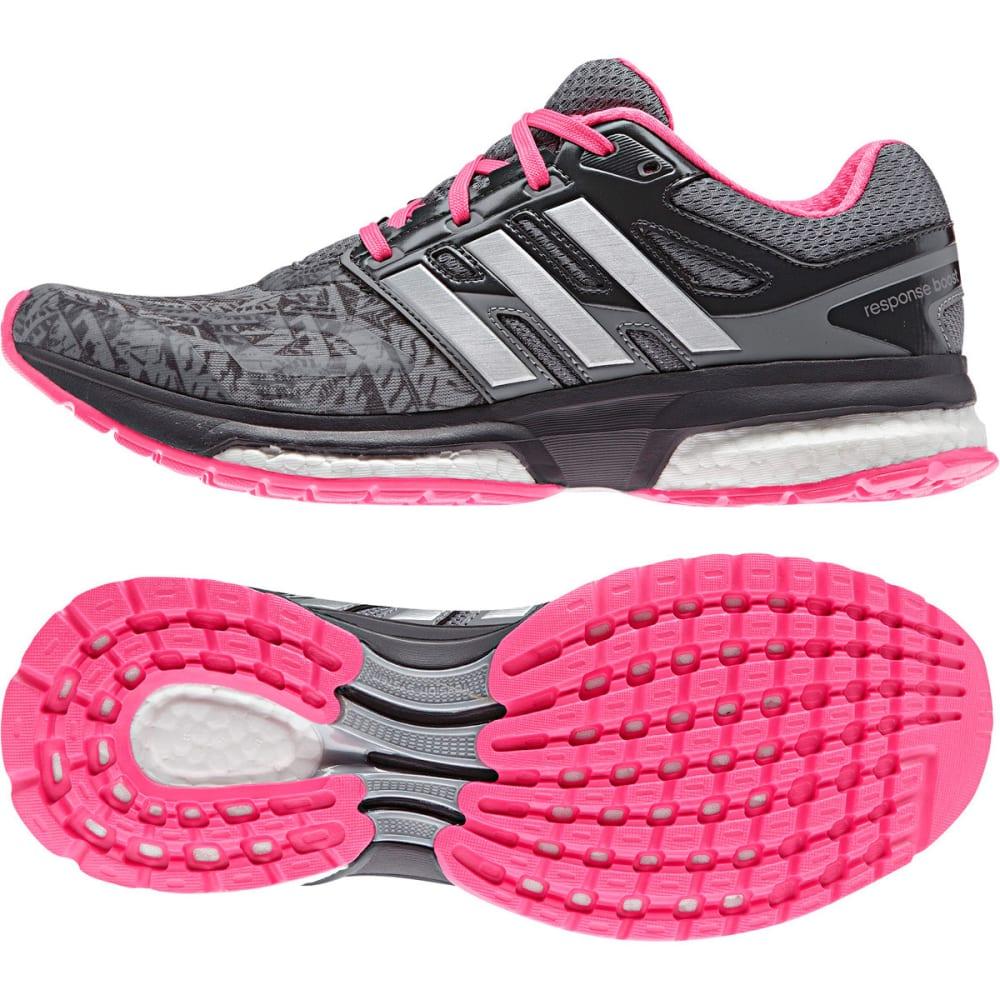 ADIDAS Women's Response Boost Running Shoes - GRAY