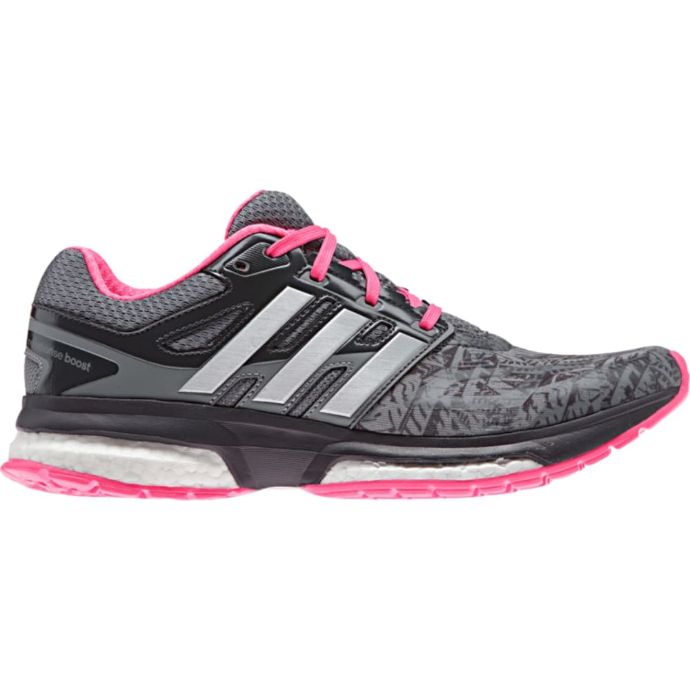 ADIDAS Women's Response Boost Running Shoes - GRAY