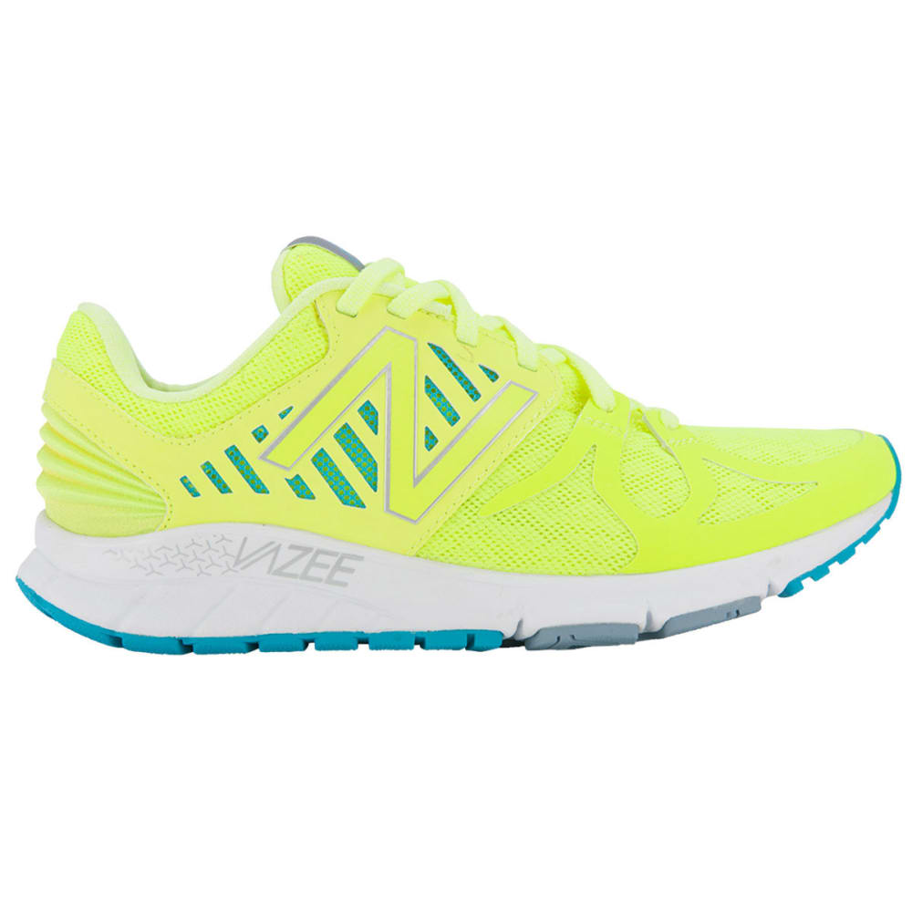 NEW BALANCE Women's Vazee Rush Running Shoes - YELLOW/SEA BLUE