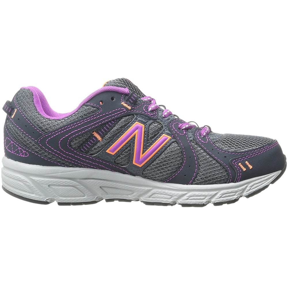 NEW BALANCE Women's 402 Sneakers, Medium - CHARCOAL/ORANGE