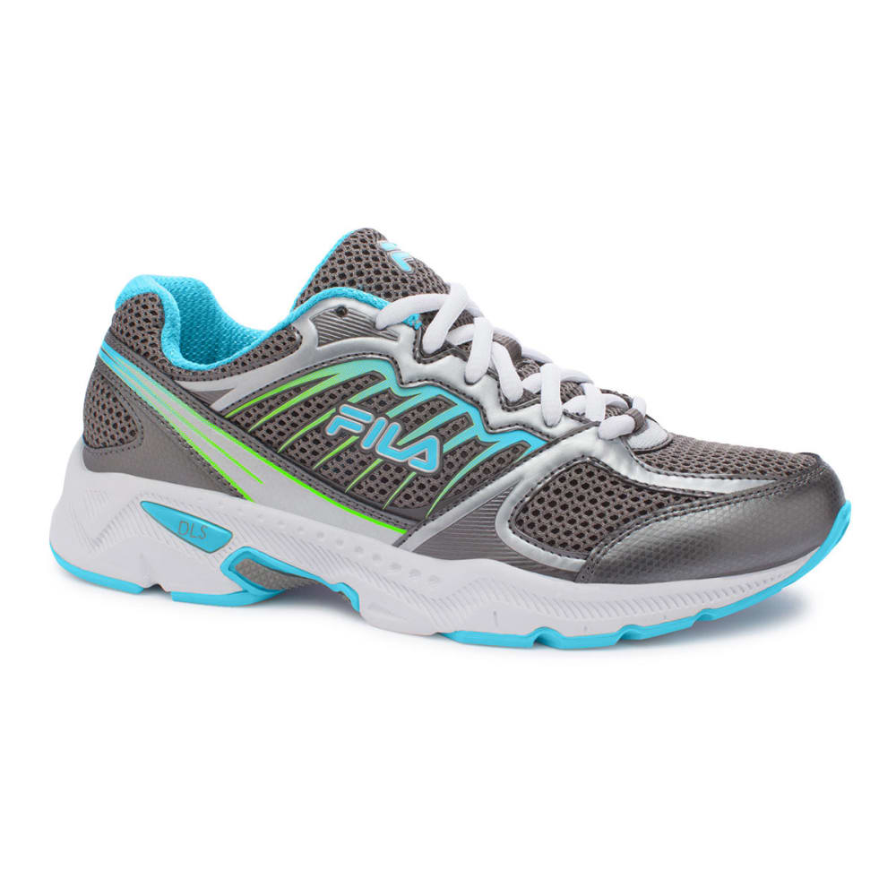 FILA Women's Tempo Sneakers, Medium - GREY
