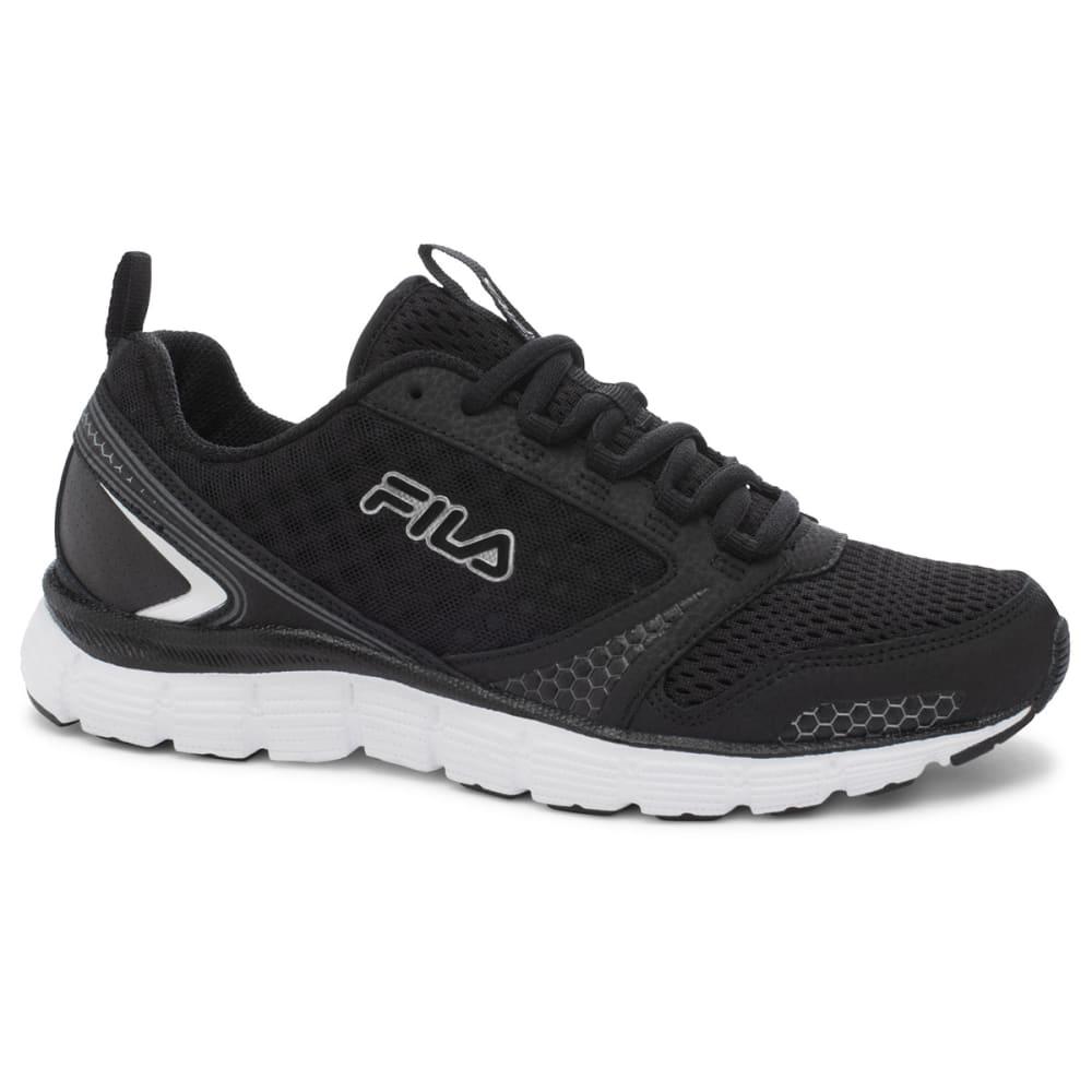 FILA Women's Memory Windstar Shoes - BLACK