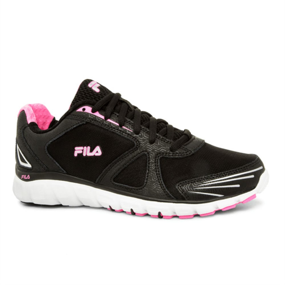 FILA Women's Memory Solidarity Running Shoes - BLACK