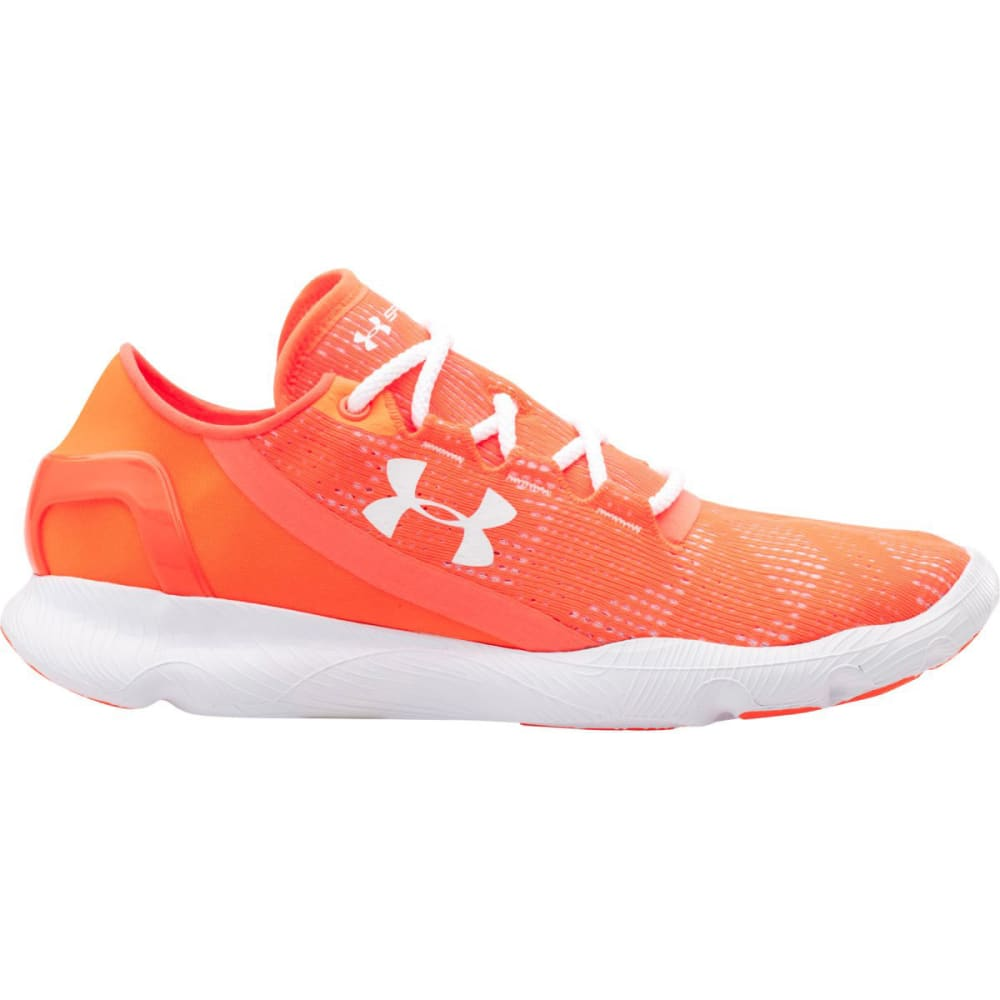 UNDER ARMOUR Women's Speedform Apollo Vent Running Shoes - AFTER BURN