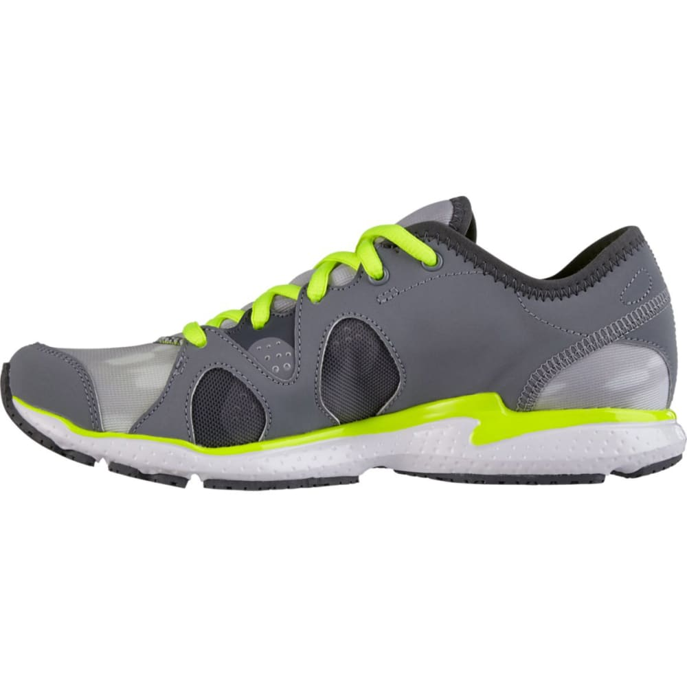 UNDER ARMOUR Women's Micro G® Neo Mantis Print Running Shoes - LIGHT GREY