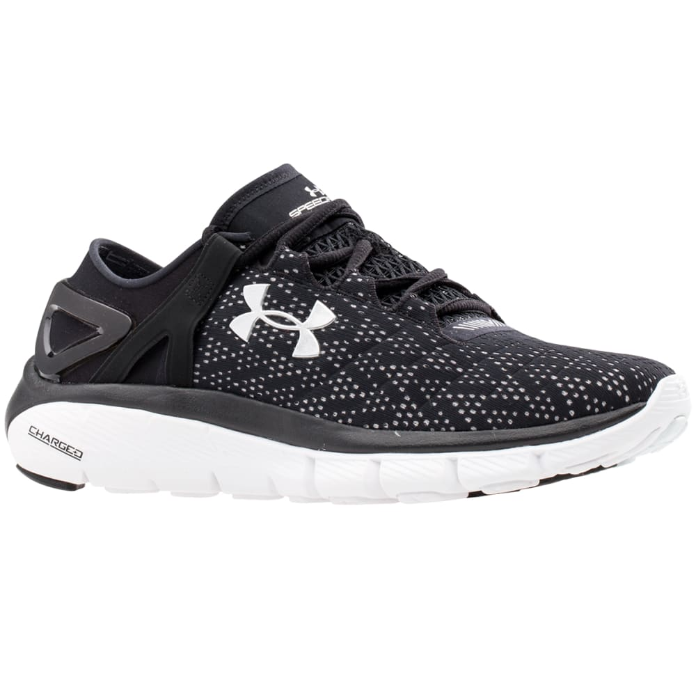 UNDER ARMOUR Women's Speedform® Fortis Running Shoes - BLACK
