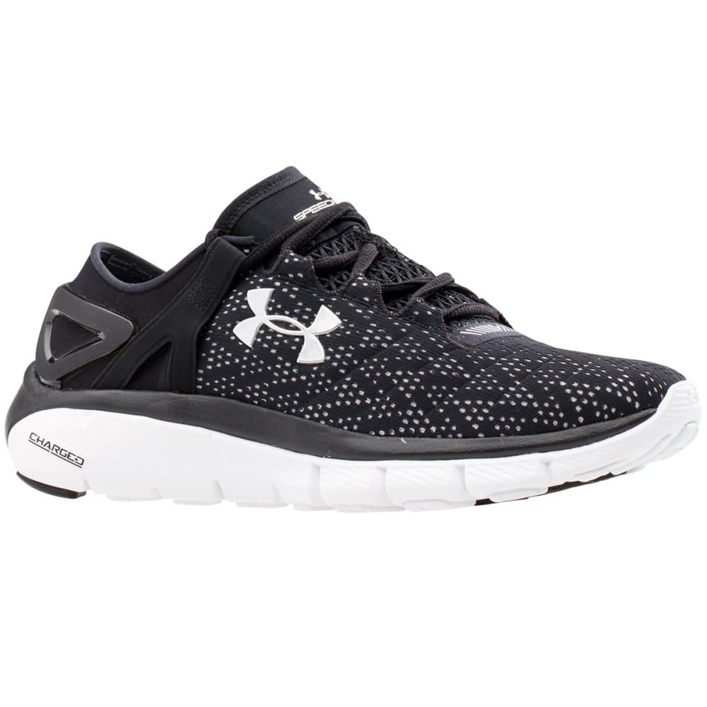 UNDER ARMOUR Women's Speedform® Fortis Running Shoes - BLACK