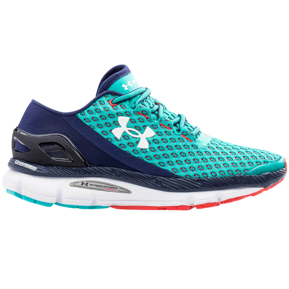 UNDER ARMOUR Women's Speedform Gemini Running Shoes - BLUE