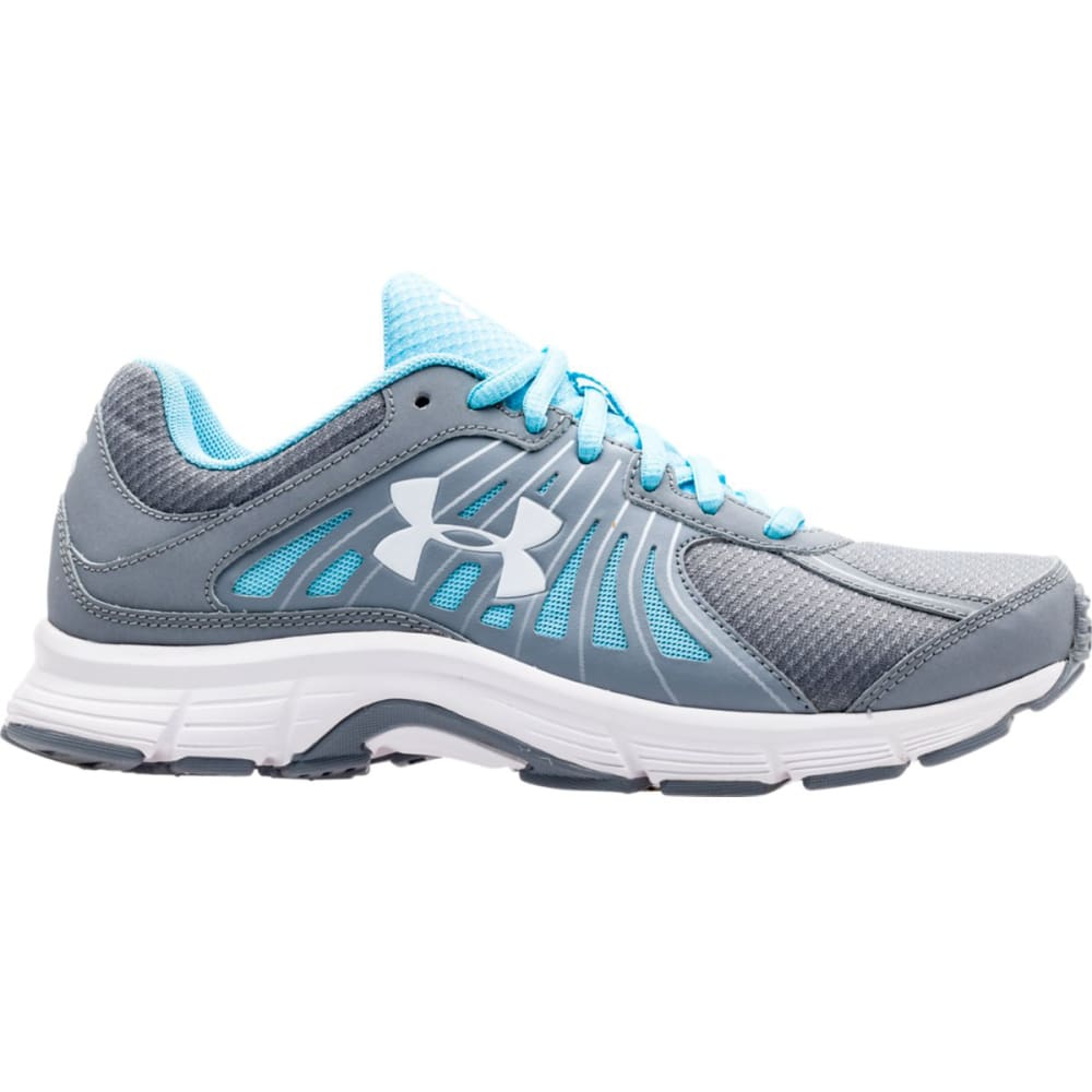 UNDER ARMOUR Women's Dash RN Running Shoes - STEEL/SKY BLUE/WHT