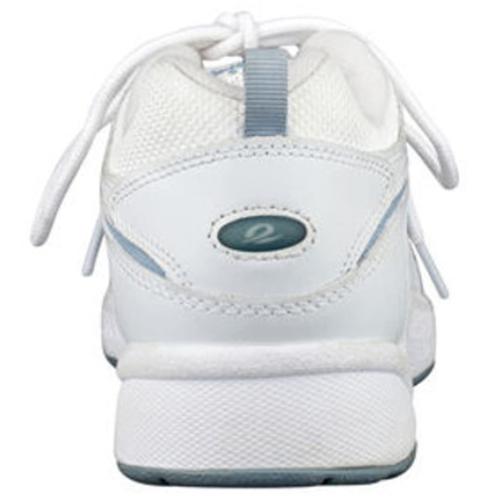 EASY SPIRIT Women's Romy Walking Shoes - WHT/NVY/GRN