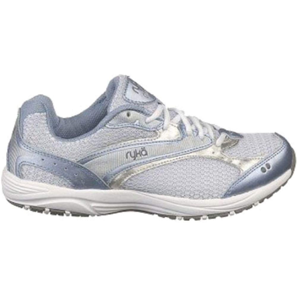 RYKA Women's Dash Walking Shoes - WHITE/BLUE