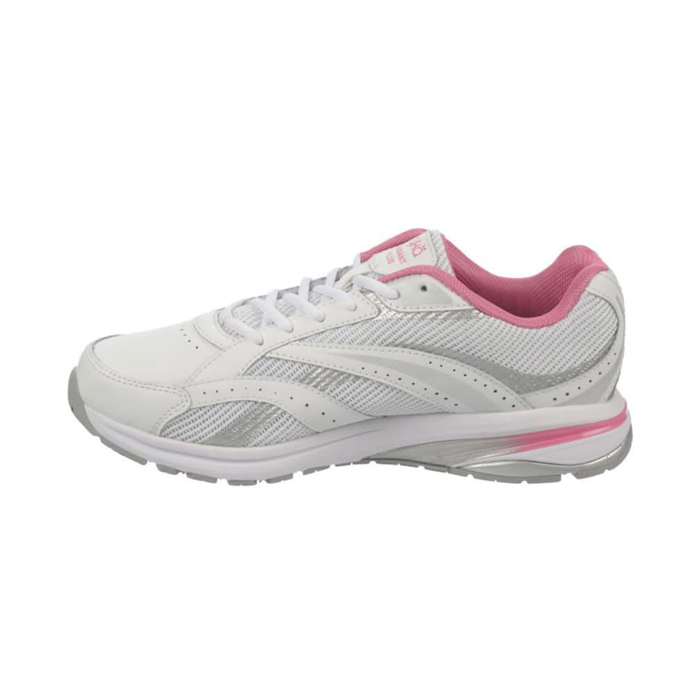 RYKA Women's Radiant Plus Walking Shoes - WHITE/PINK MYSTIQUE/