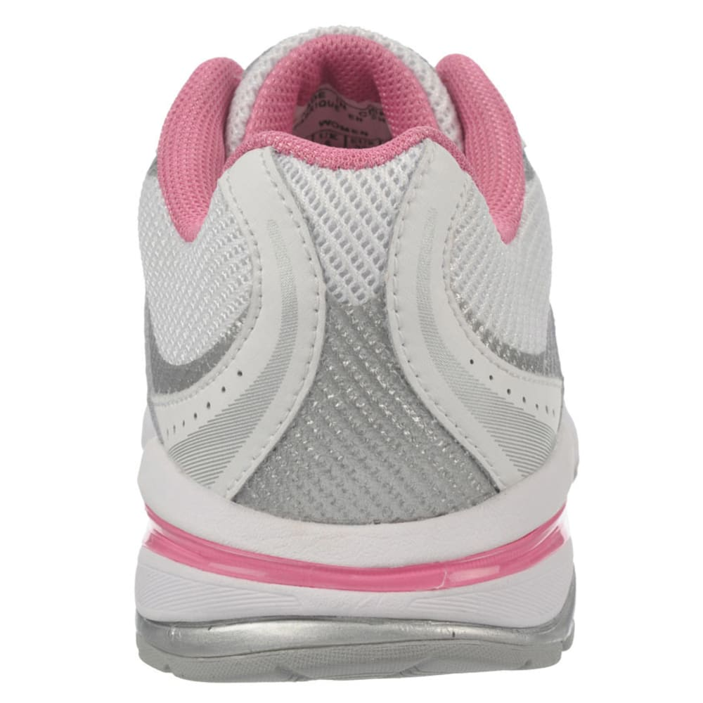 RYKA Women's Radiant Plus Walking Shoes - WHITE/PINK MYSTIQUE/