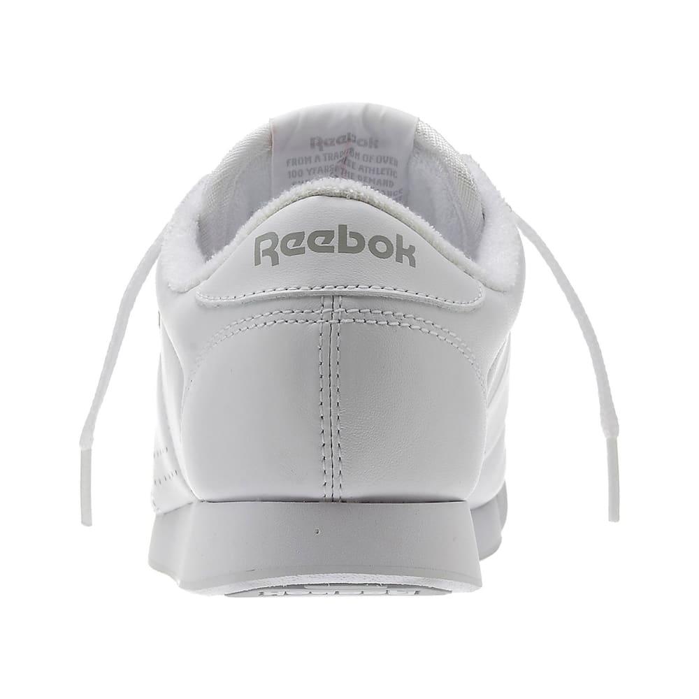 REEBOK Women's Princess Shoes, Wide Width - WHITE