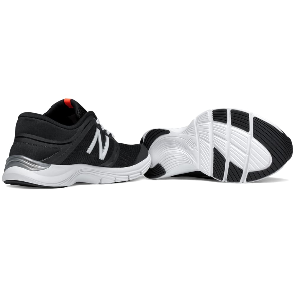 NEW BALANCE Women's 711 Mesh Training Shoes - BLACK/WHITE