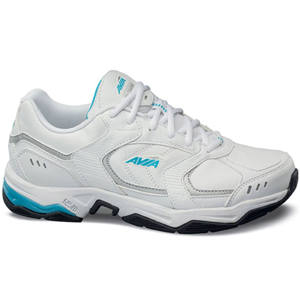 AVIA Women's Avi-Tangent Training Shoes, Wide Width - WHITE
