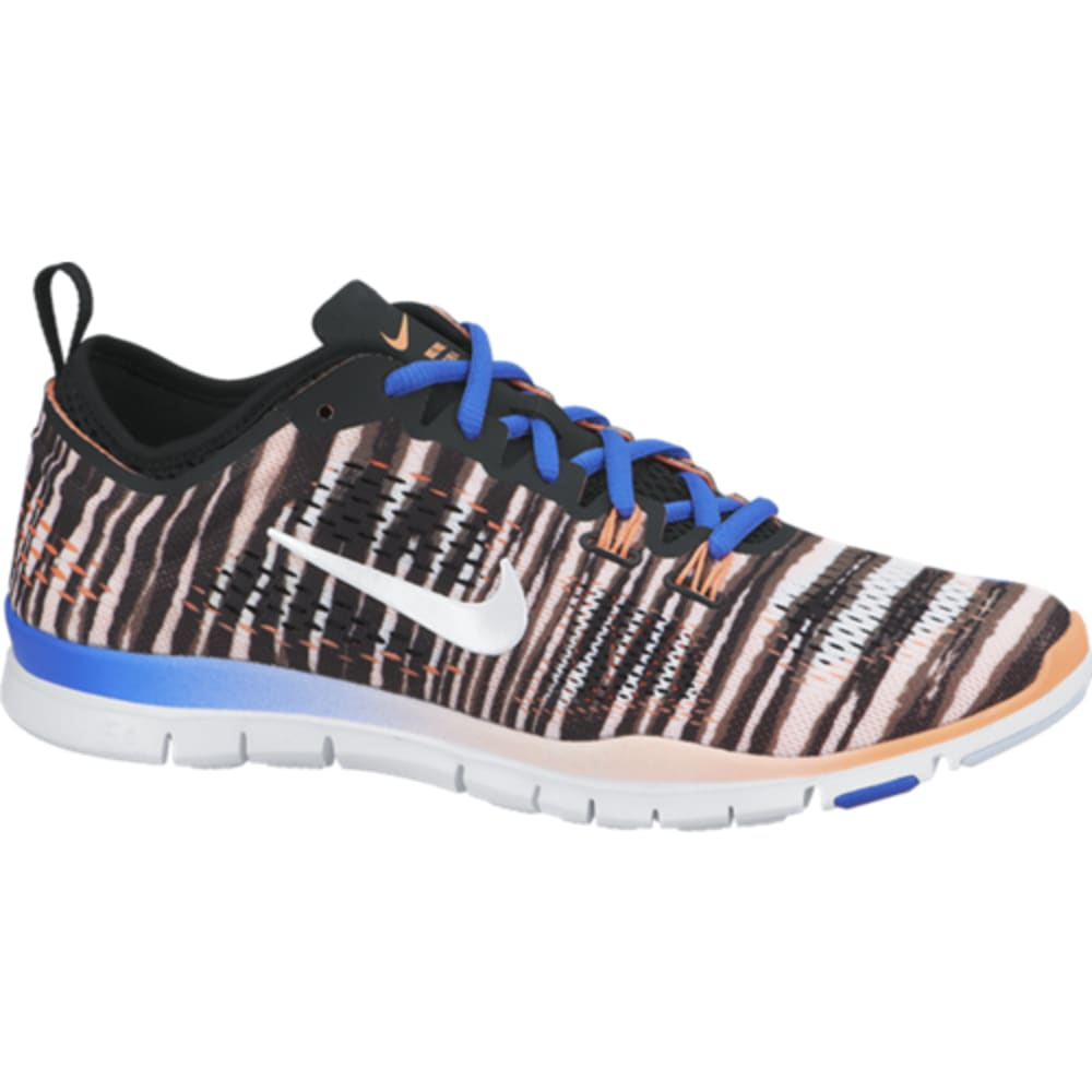 NIKE Women's Free 5.0 Tr Fit 4 Print Training Shoes - NINE IRON