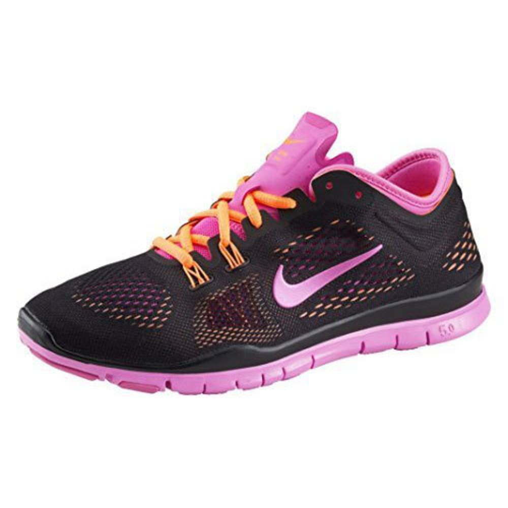 NIKE Women's Free 5.0 Tr Fit 4 Print Training Shoes - VENTURE PINK