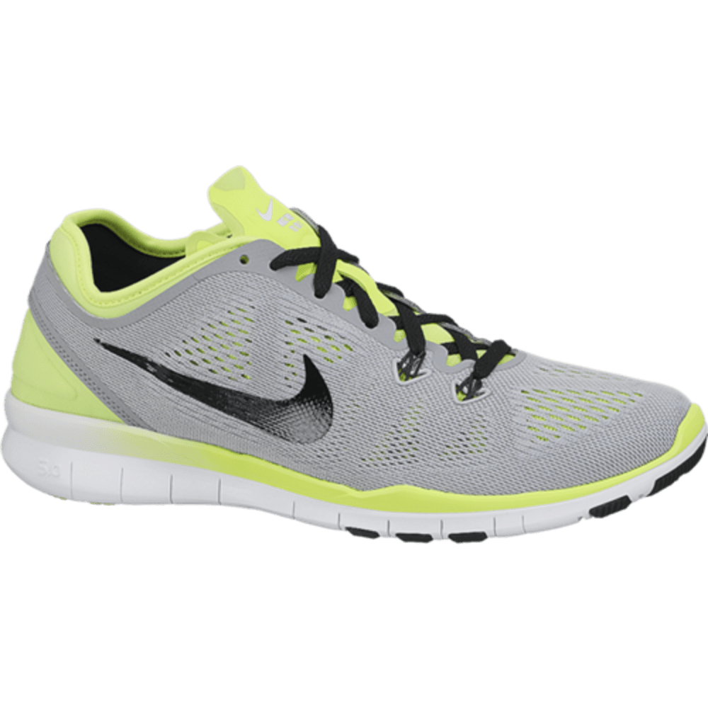 NIKE Women's Free 5.0 TR Fit 5 Breathe Training Shoes - GRAY