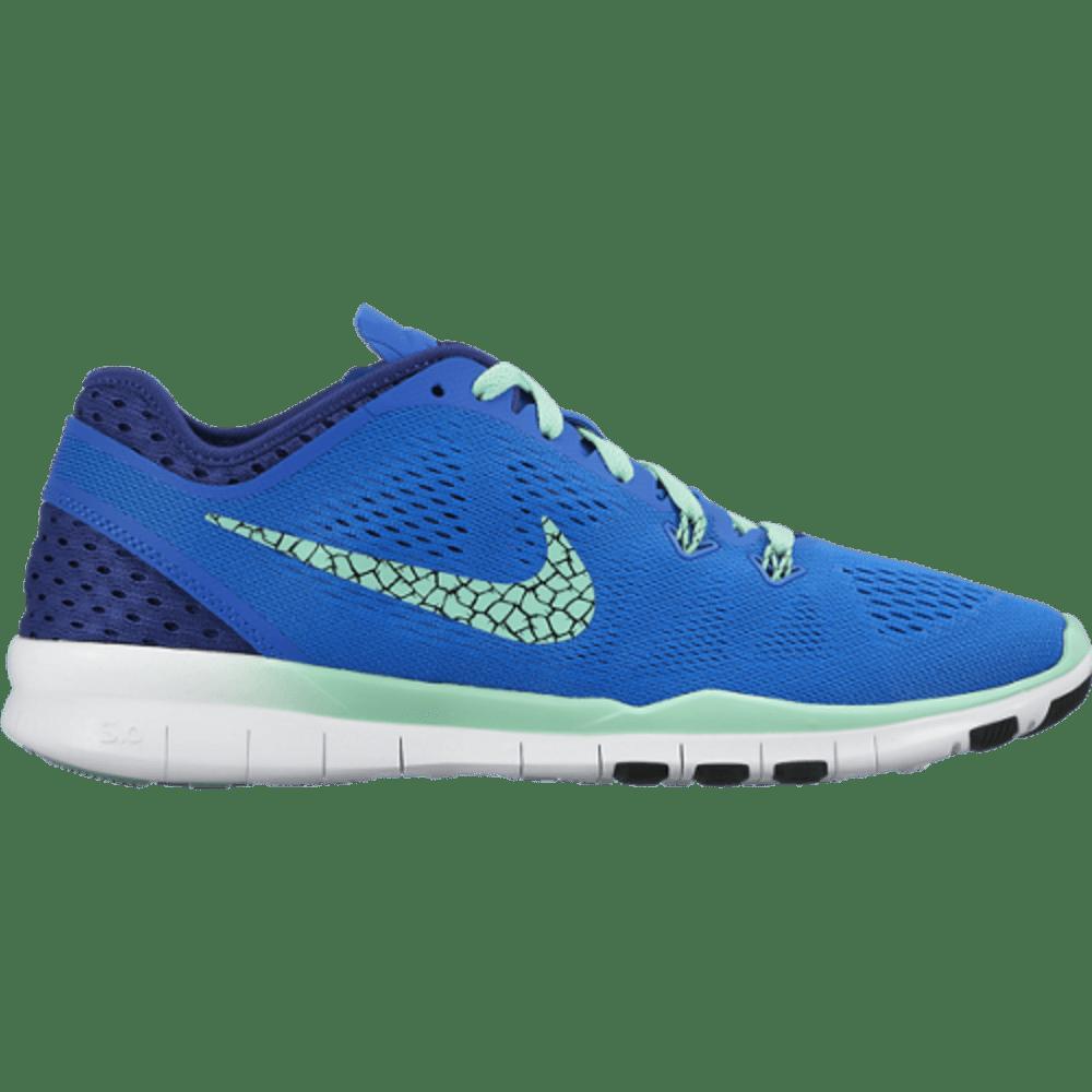 NIKE Women's Free 5.0 TR Fit 5 Breathe Training Shoes - BLUE