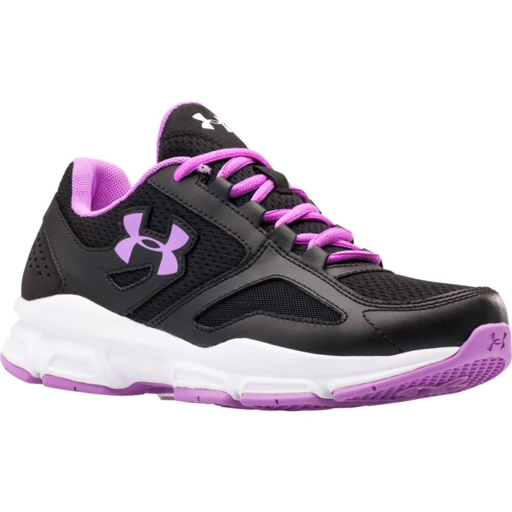 UNDER ARMOUR Women's UA Zone Training Shoes - BLACK/BLOOM