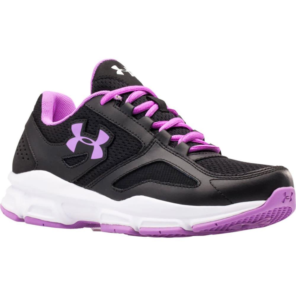 UNDER ARMOUR Women's UA Zone Training Shoes - BLACK/BLOOM