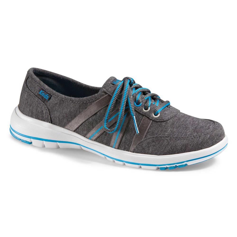 KEDS Women's Crosslite Lace Shoes - DARK SHADOW