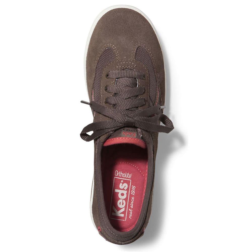 KEDS Women's Craze T-Toe Suede Shoes - MOREL