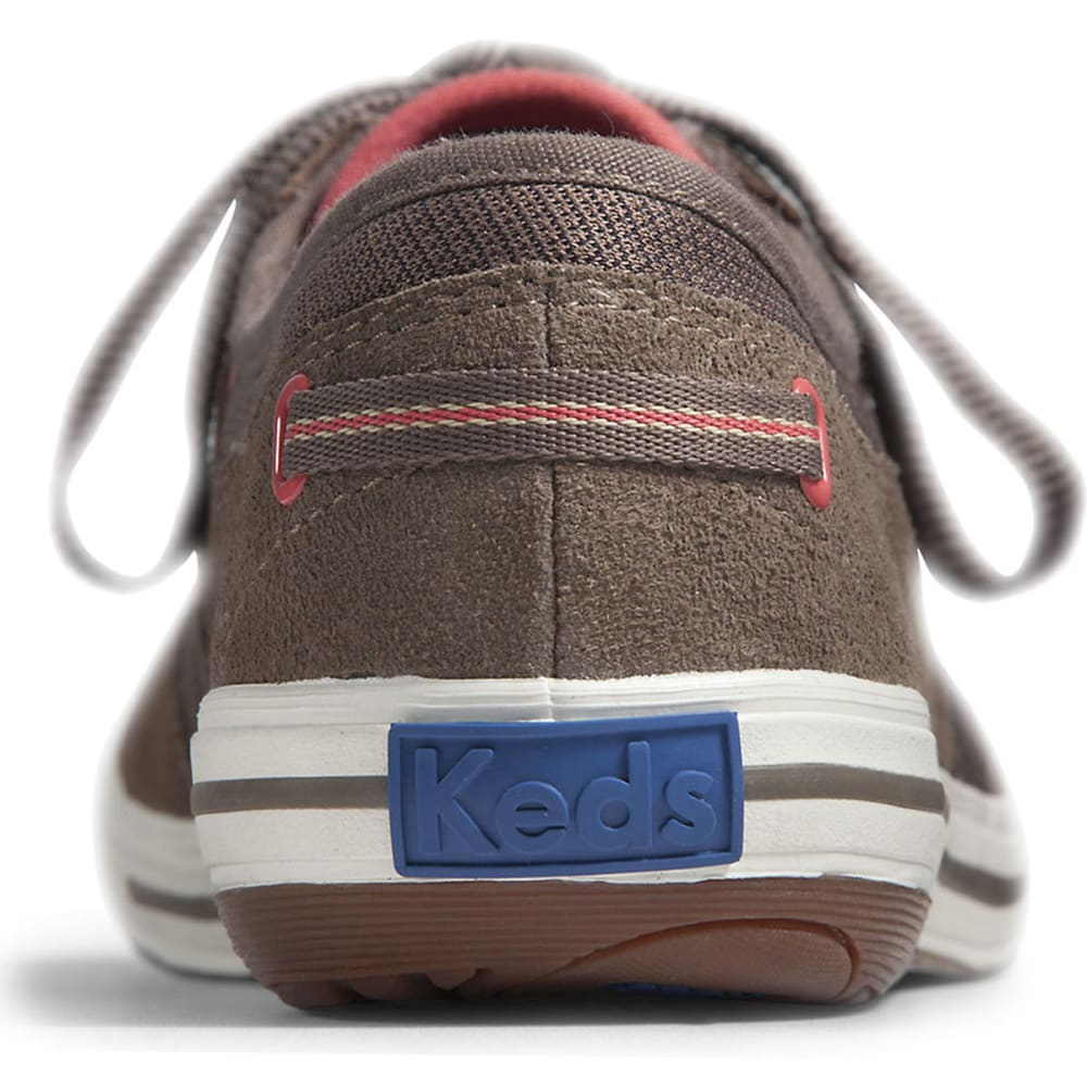 KEDS Women's Craze T-Toe Suede Shoes - MOREL