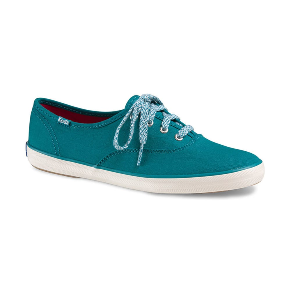 KEDS Women's Champion CVO Canvas Shoes - TEAL