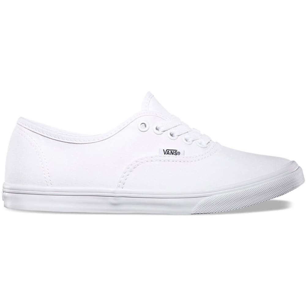 VANS Unisex Authentic Lo Pro Shoes - WHITE VN-0F7BQLZ