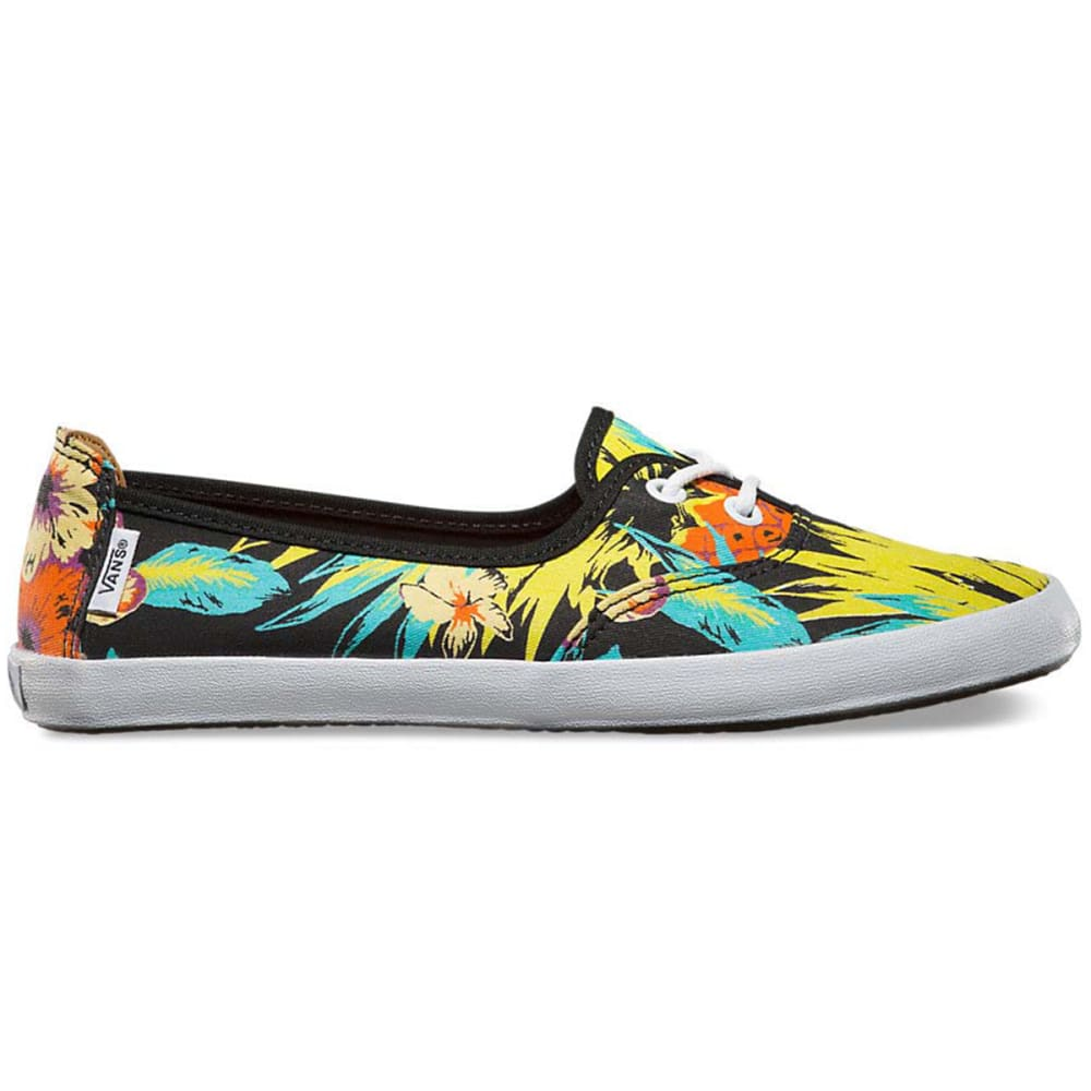 VANS Women's Solana Canvas Shoes - TROPICAL PINEAPPLE