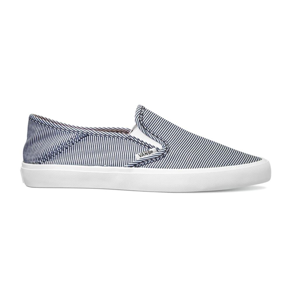 VANS Women's Solana Skimmer Shoes - NAVY STRIPE