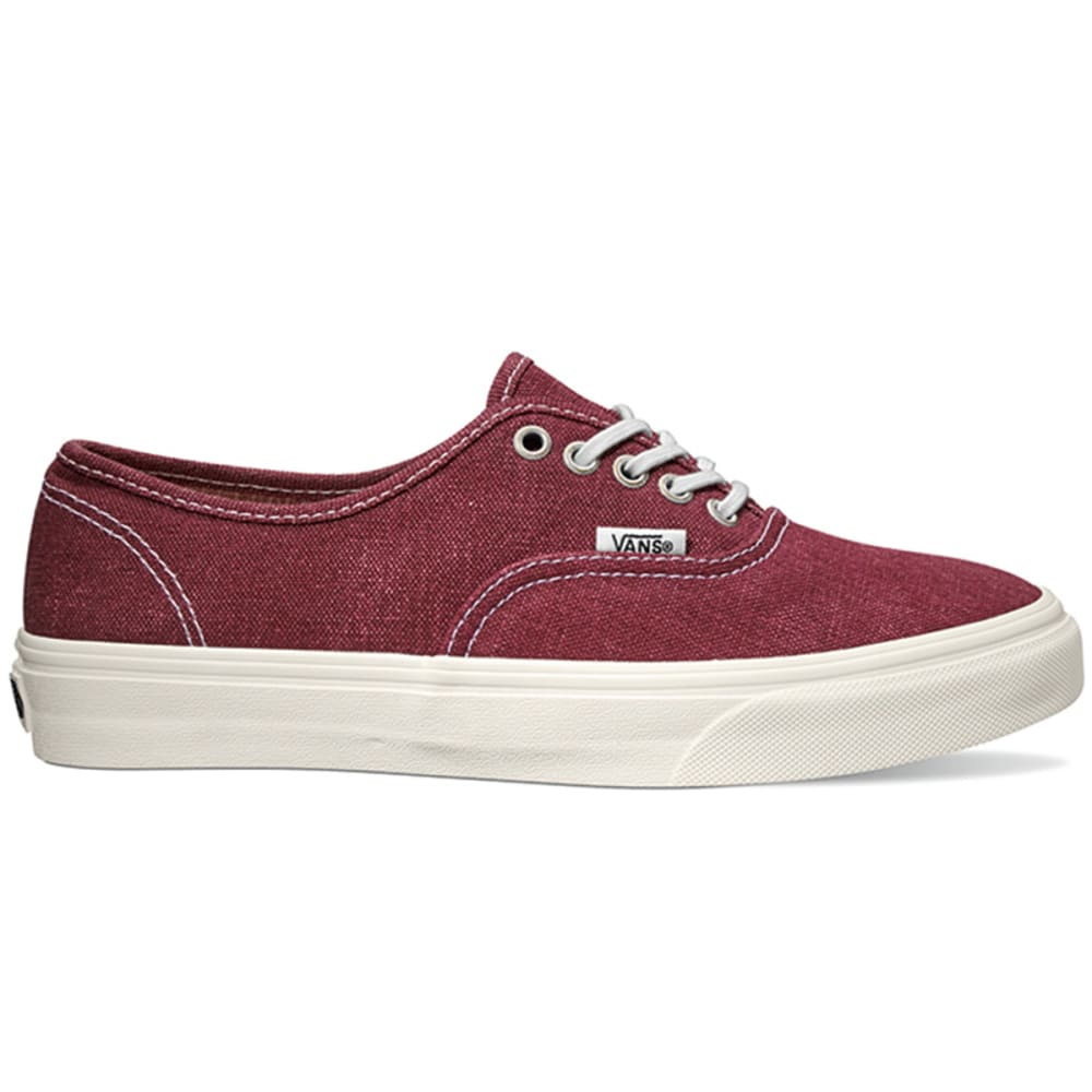 VANS Unisex Authentic Lo Pro Shoes - BURGUNDY