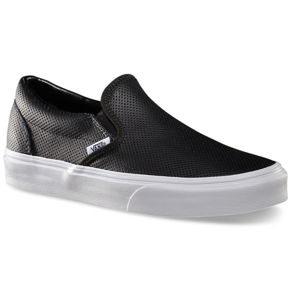 VANS Women's Slip On Sneaker - BLACK