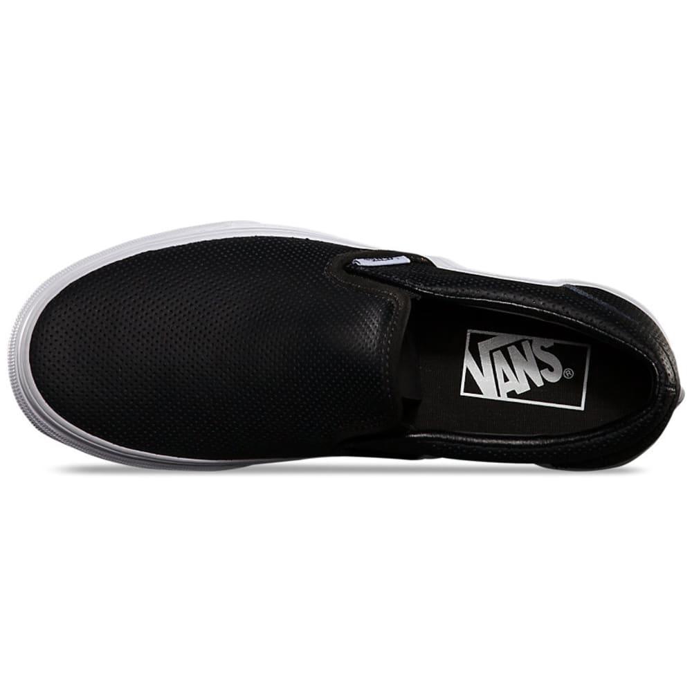VANS Women's Slip On Sneaker - BLACK