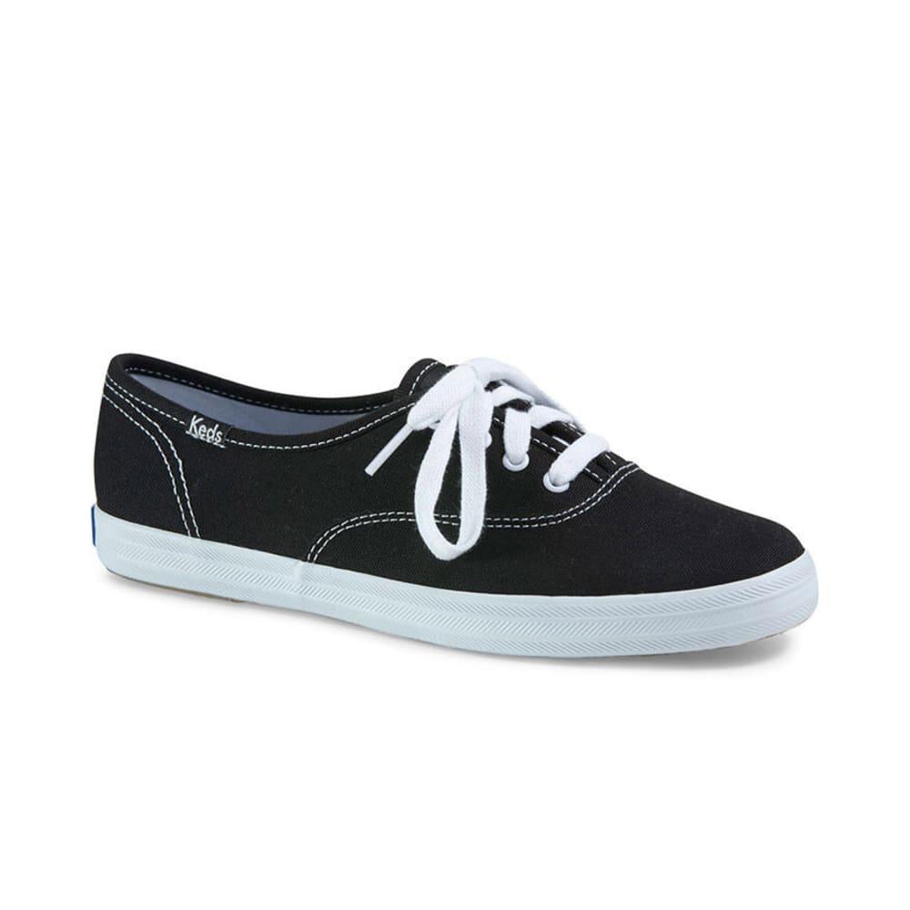 KEDS Women's Champion Oxford CVO Shoes - Premium - BLACK