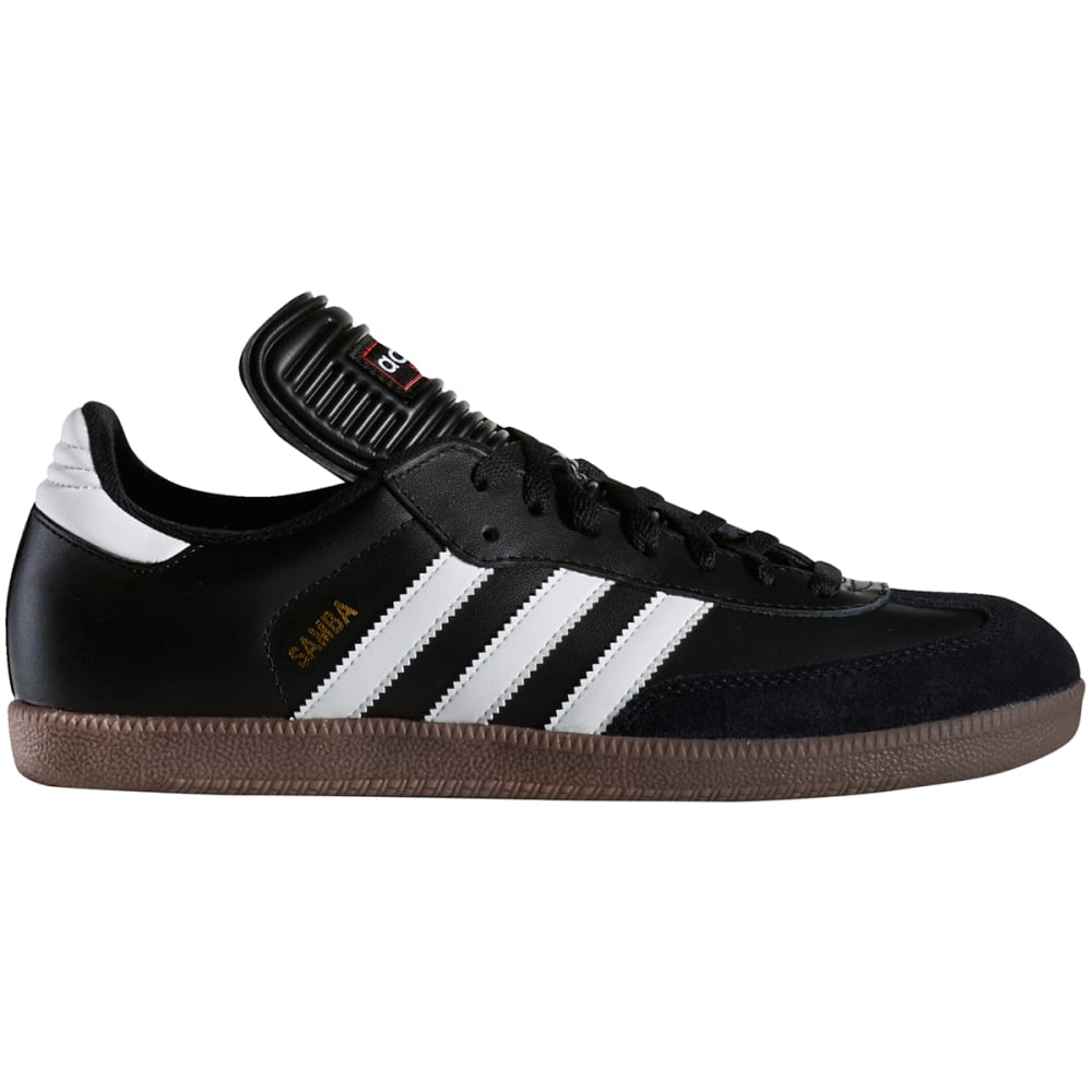 Adidas Men's Samba Classic Indoor Soccer Shoes - Black, 12.5