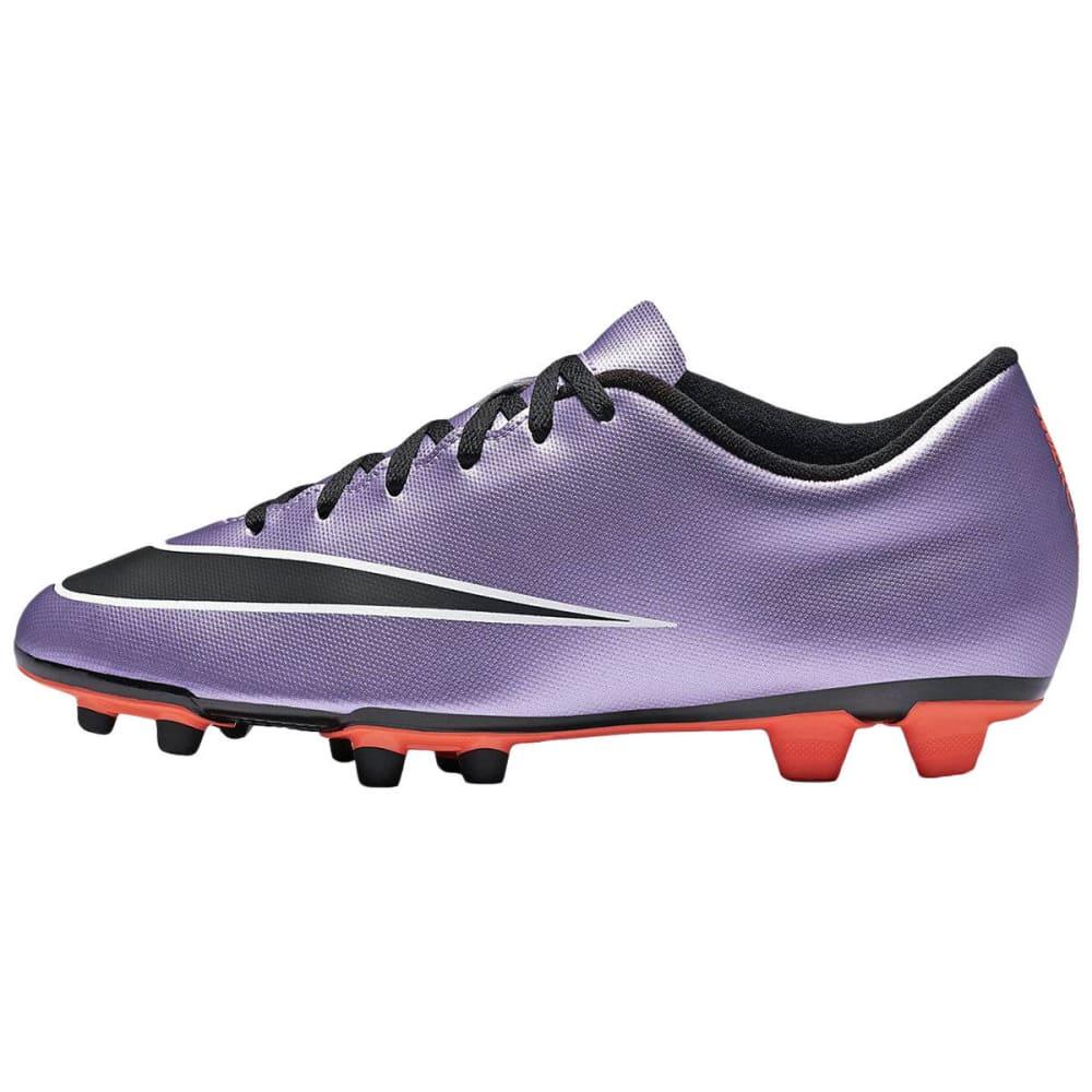 NIKE Adult Mercurial Vortex II FG Soccer Cleats - PURPLE DHALIA
