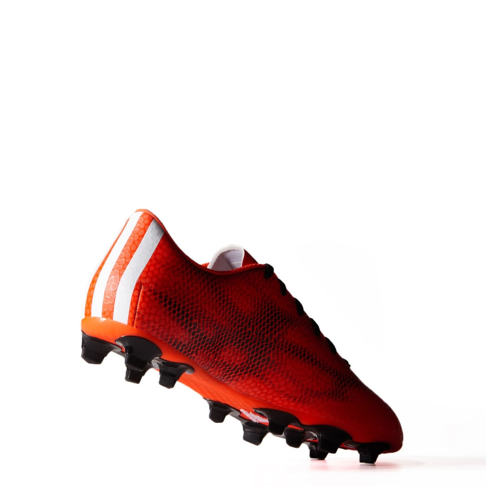 ADIDAS Men's F5 FG Football Cleats - RED/BLACK/WHITE