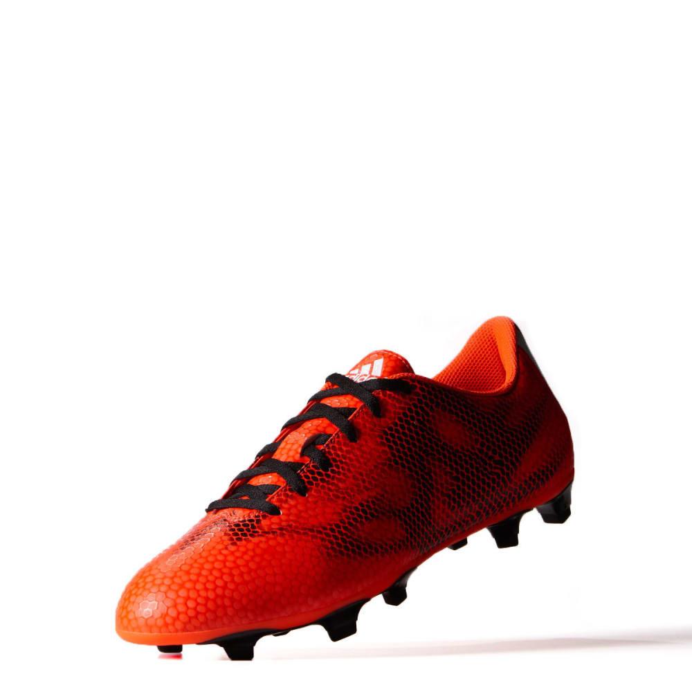 ADIDAS Men's F5 FG Football Cleats - RED/BLACK/WHITE