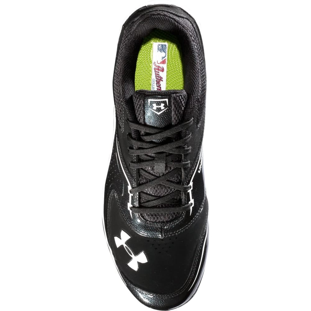 UNDER ARMOUR Men's UA Ignite Low Steel CC Baseball Cleats - BLACK