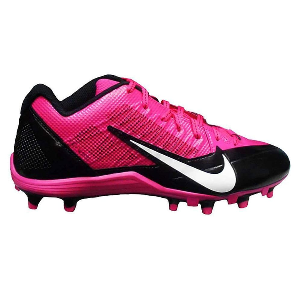 NIKE Men's Alpha Pro TD Football Cleats - KNOCKOUT PINK