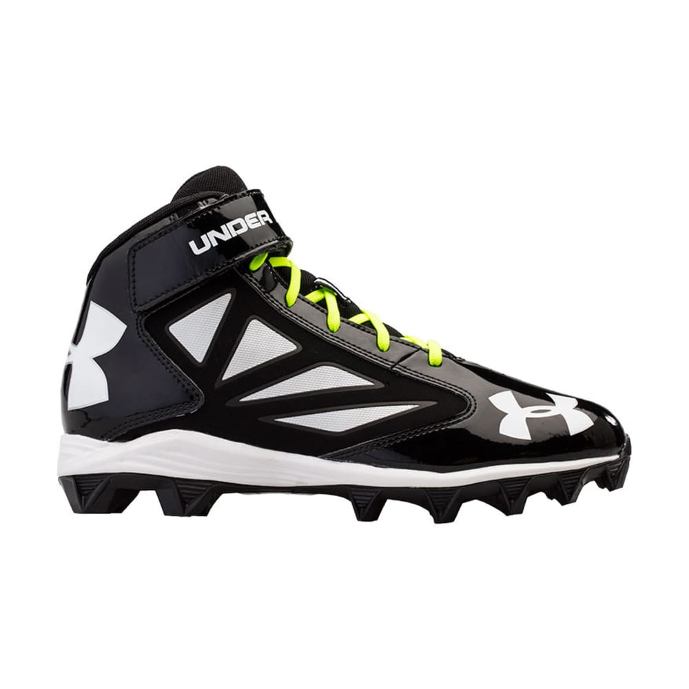 UNDER ARMOUR Men's Crusher Football Cleats - BLACK