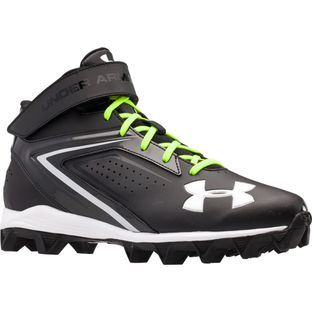 UNDER ARMOUR Men's Crusher RM Football Cleats - BLACK