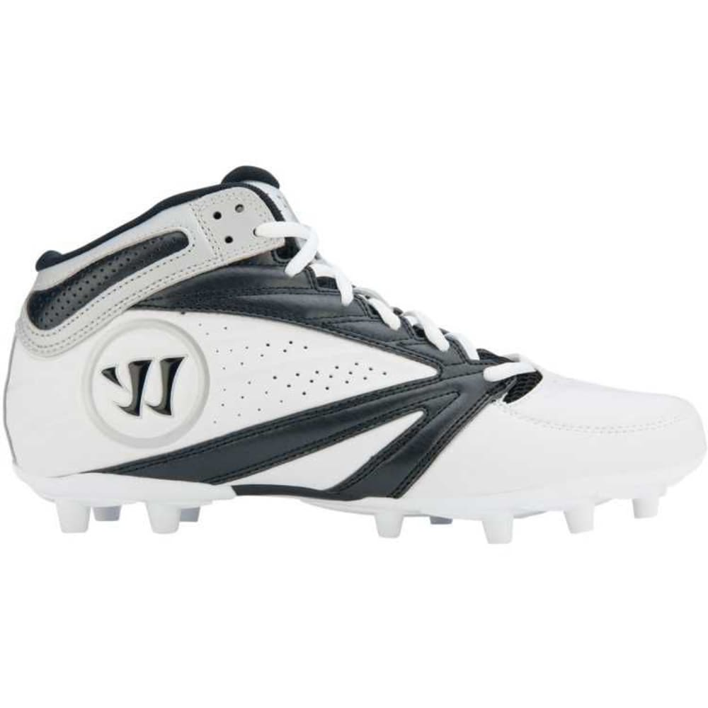 WARRIOR Men's Second Degree 3.0 Lacrosse Cleats - BLACK/WHITE