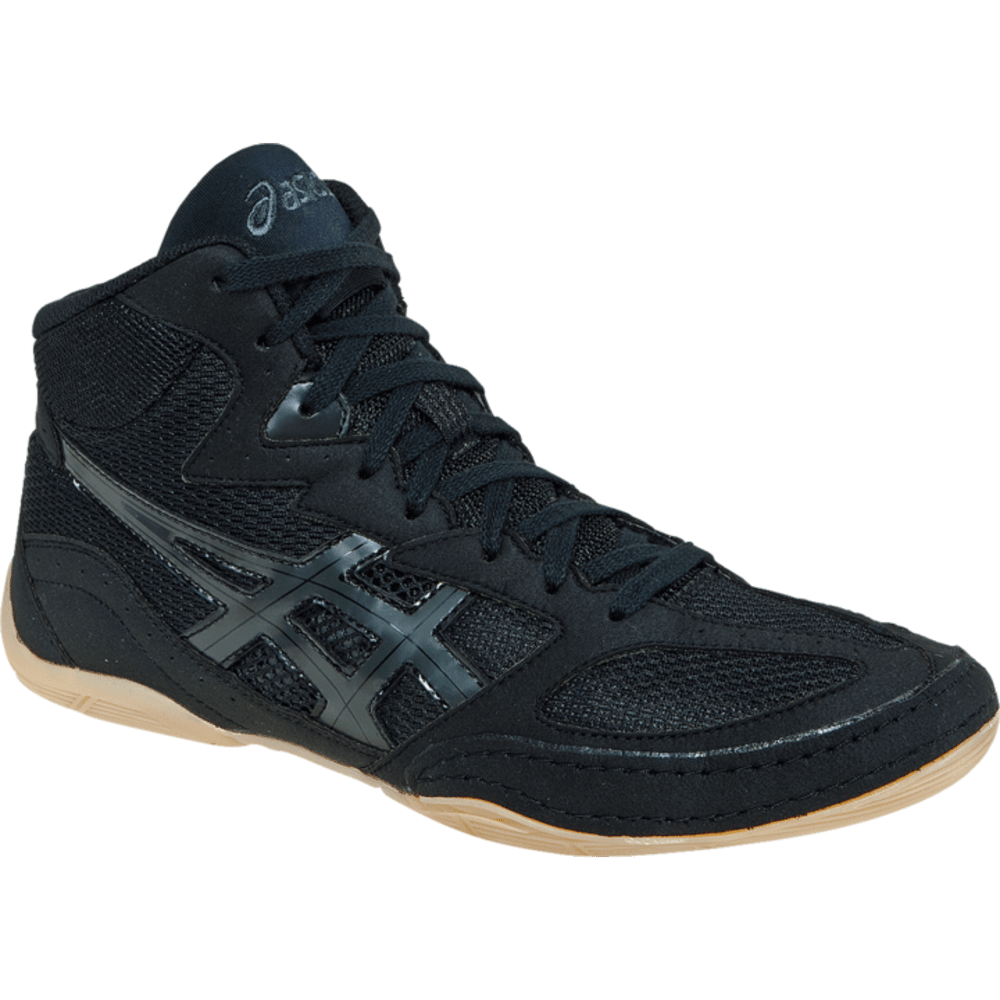 ASICS Men's MATFLEX 4 Wrestling Shoes - BLACK/ONYX
