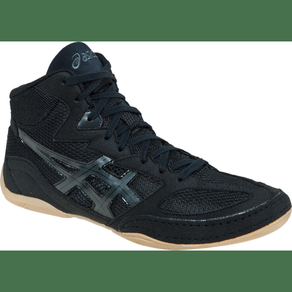 ASICS Men's MATFLEX 4 Wrestling Shoes - BLACK/ONYX